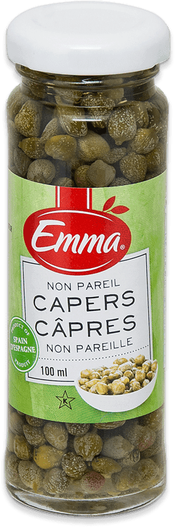 Emma Capers - Glass Jar.
