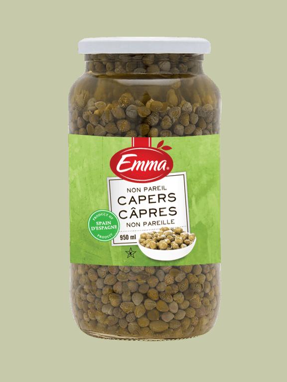 Emma Capers - Glass Jar.