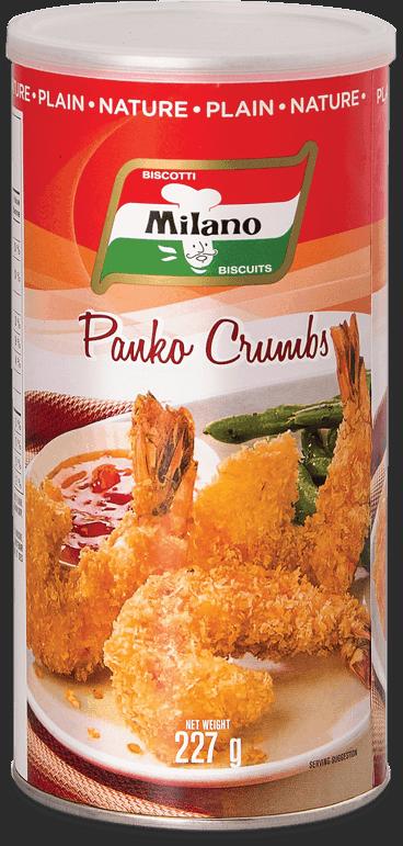 Milano Plain Panko Crumbs.
