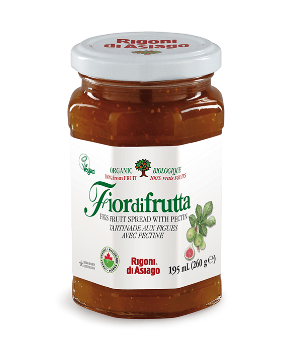 Rigoni Fiordifrutta Organic Fig Spread with Pectin.