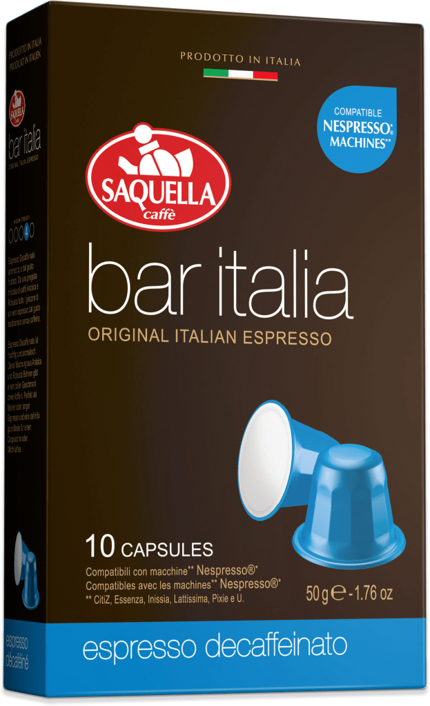BAR ITALIA Espresso DEKAF - Capsule | Jan K. Overweel