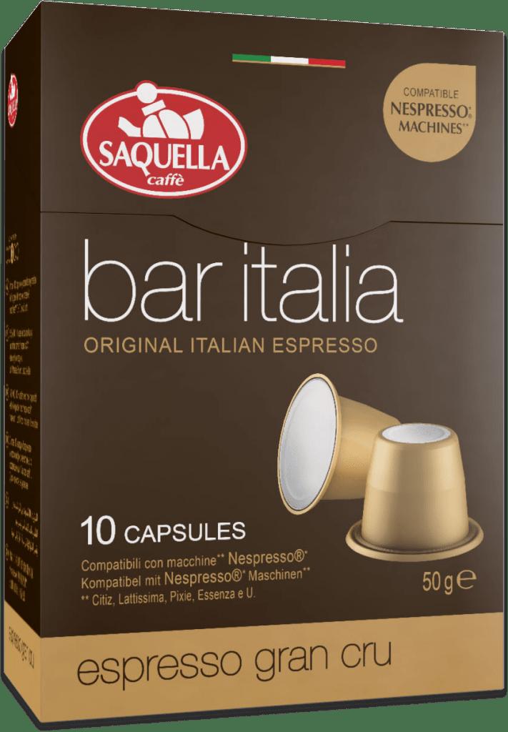 c1f3ddef95efbf Saquella Bar Italia Espresso Gran Cru - Capsule | Jan K. Overweel